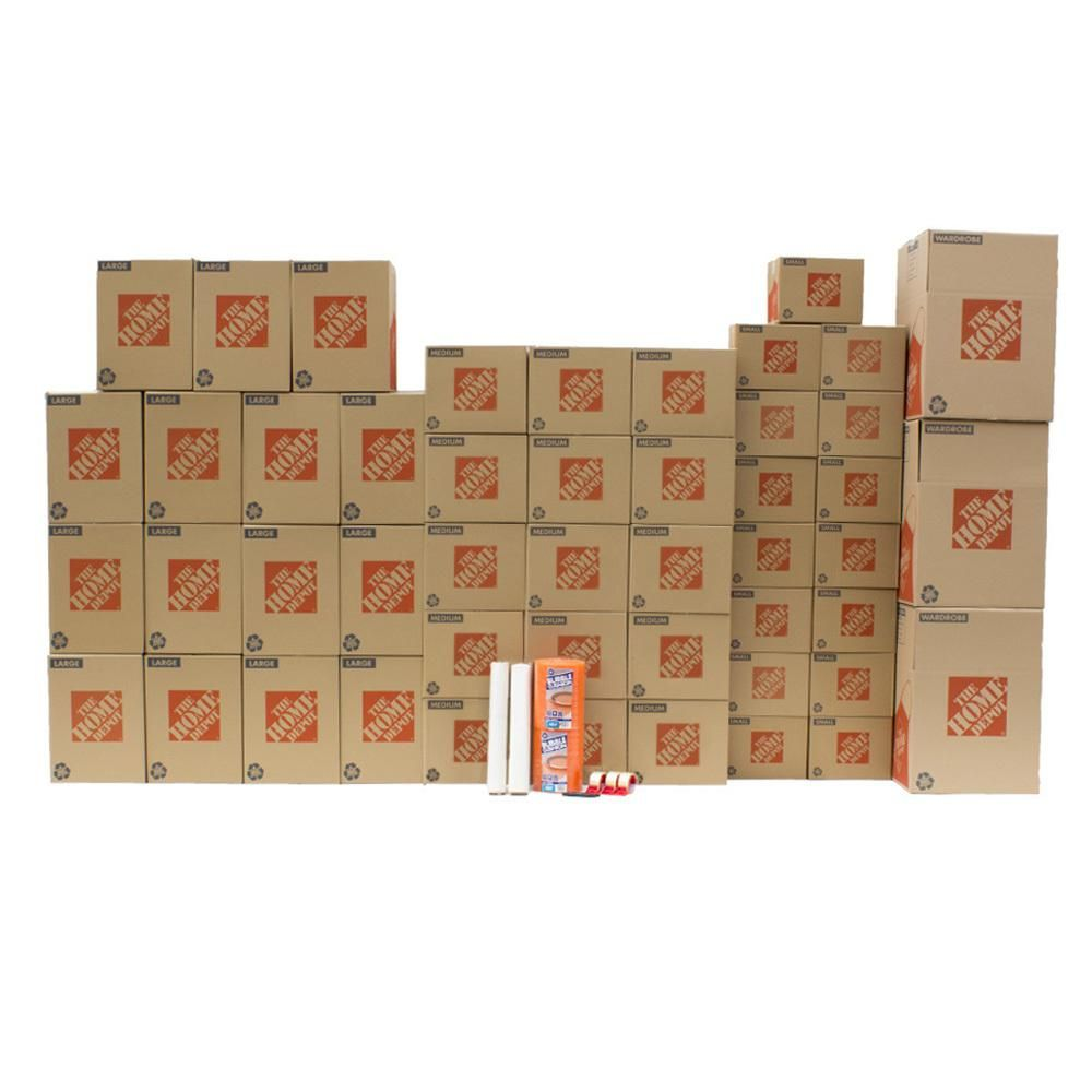 The Home Depot 48-Box Large Moving Box Kit   Products in