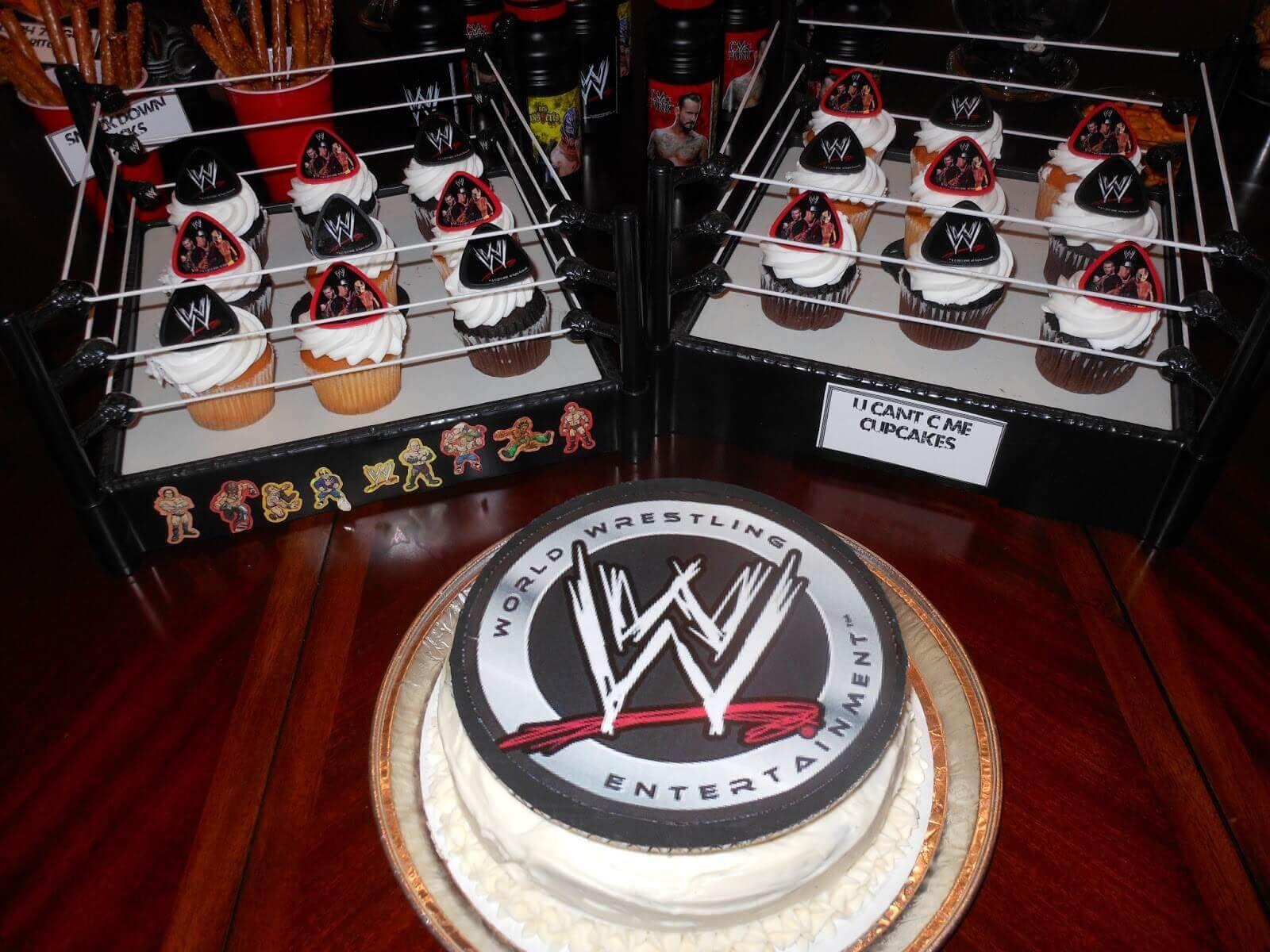 wwe birthday cake ideas