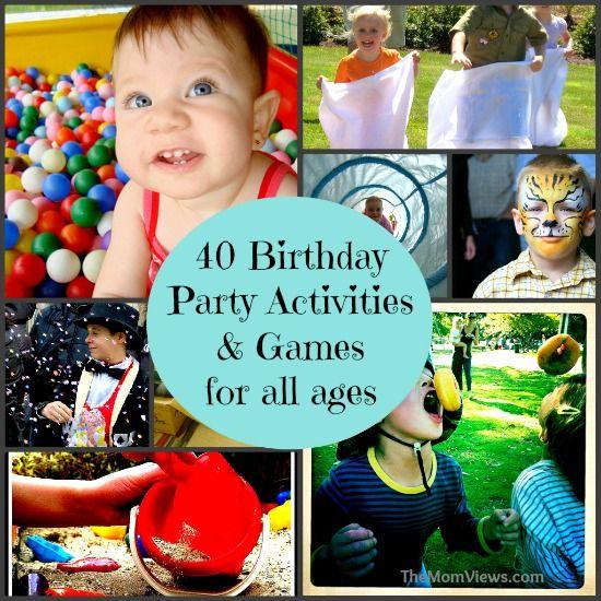 Kids Birthday Party Games: Best 25+ Kid Party Activities Ideas On Pinterest