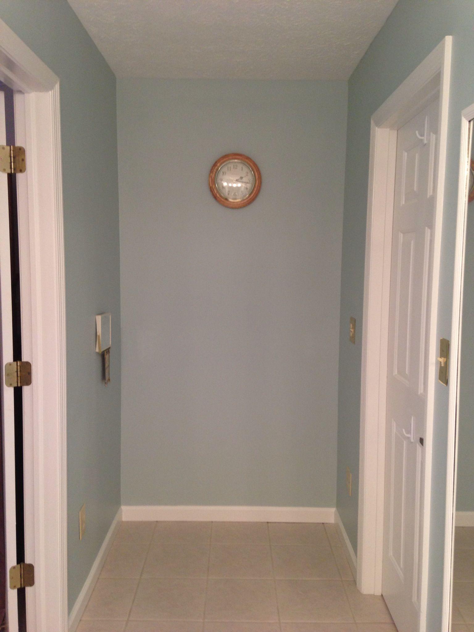copen blue sherwin williams for the home pinterest. Black Bedroom Furniture Sets. Home Design Ideas