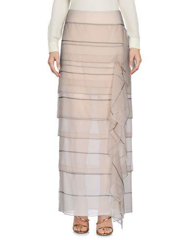 BRUNELLO CUCINELLI Women's Long skirt Beige 4 US