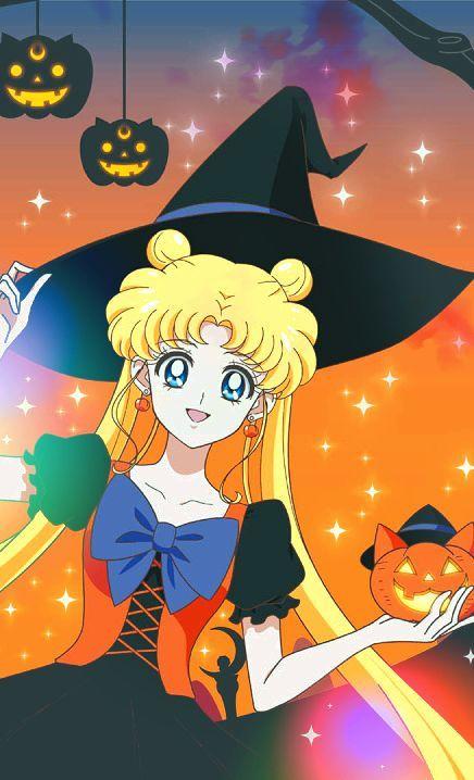 Risultati immagini per halloween sailor moon
