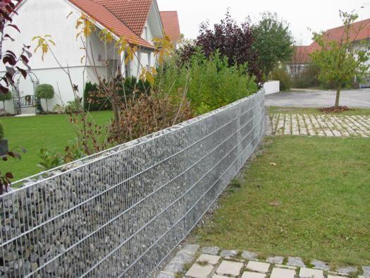 Gaviones decorativos para jardineria cercados muros for Cercados jardin