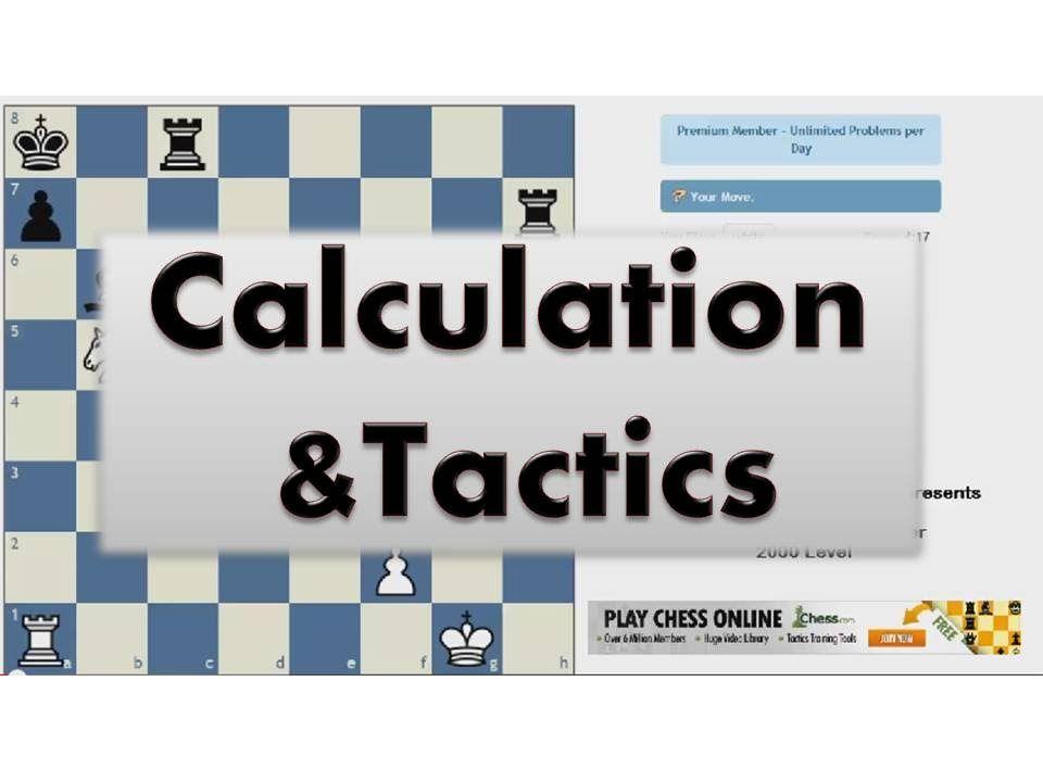 Calculation And Tactics 010 Chess Com Tactics Trainer 2200