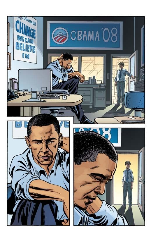 John mccain and barack obama comics are an october surprise john mccain and barack obama comics are an october surprise sciox Image collections