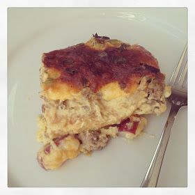 baked in the south: Paula Deen's Sausage & Hashbrown Breakfast Casserole