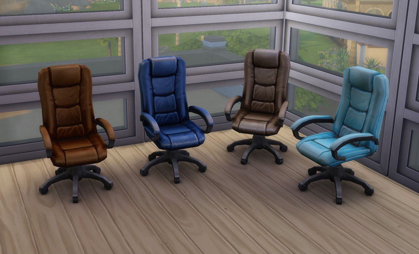 The Boss Executive Desk Chairs Recoloured To Suit Your Décor.