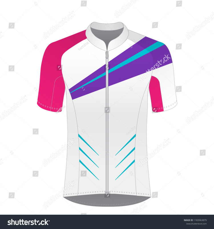 Download Blank Cycling Jersey Template New Cycling Jersey Mockup ...