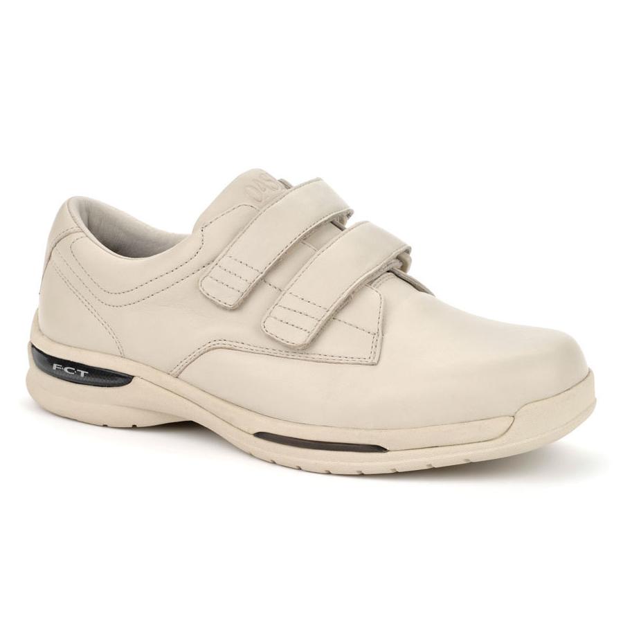 Oasis Shoes Mens Nevis Hook & Loop Velcro Comfort Sneakers