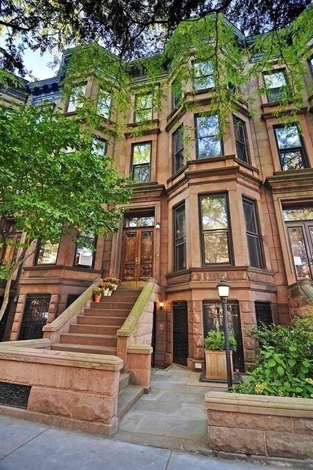 Curb Appeal for NY Brownstone New york brownstone, New