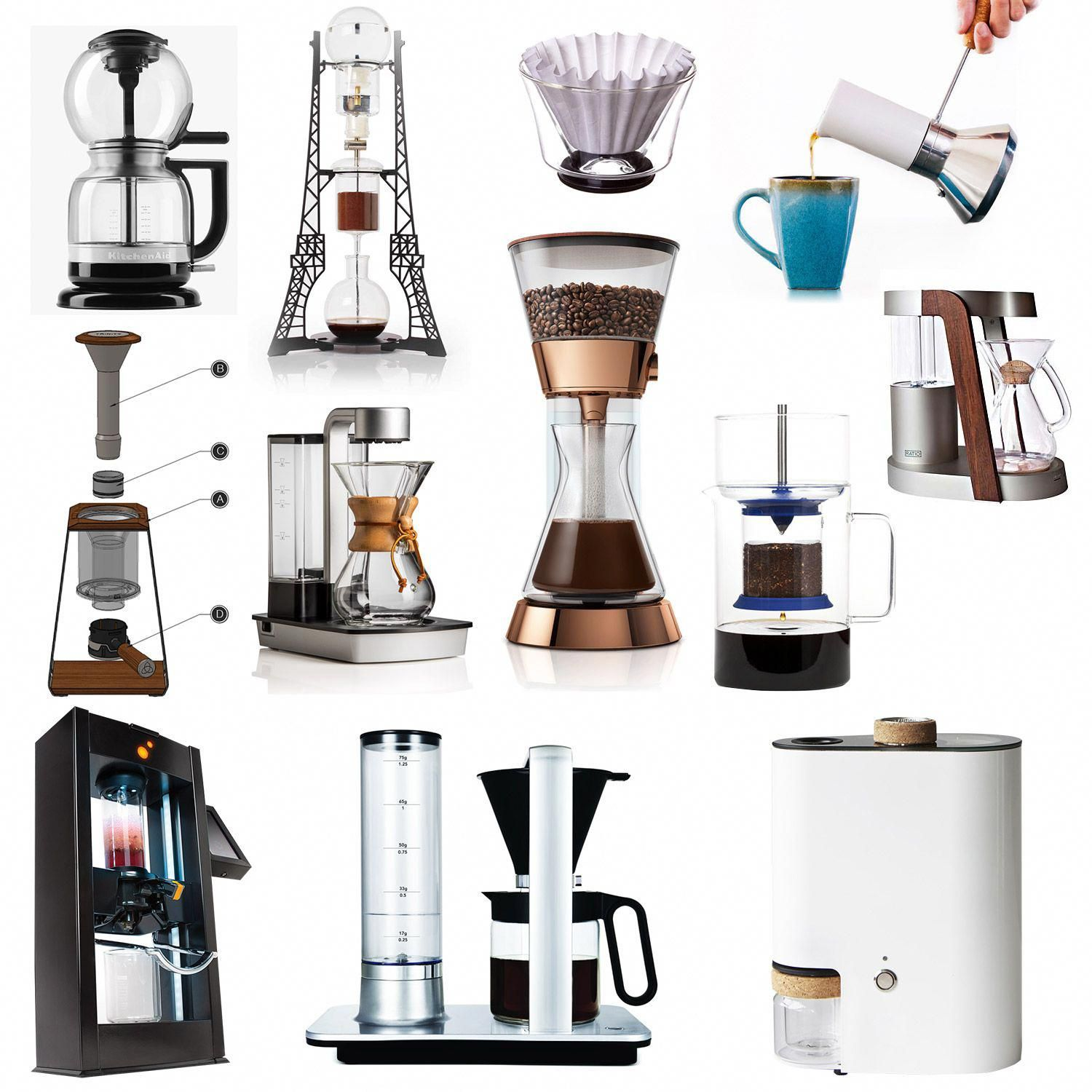 12 of the Best in Coffee Brewing Technology Best coffee