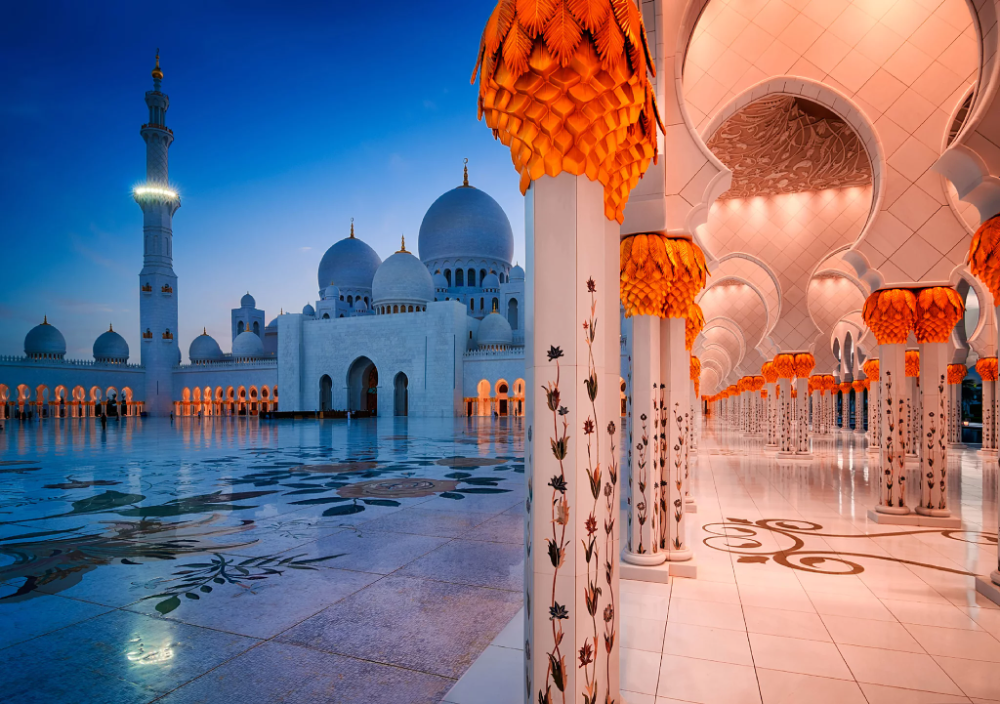 The Eid Al-Fitr Holiday Dates for the UAE Private Sector Have Been Announced | Sheikh zayed grand mosque, Mosque, Grand mosque