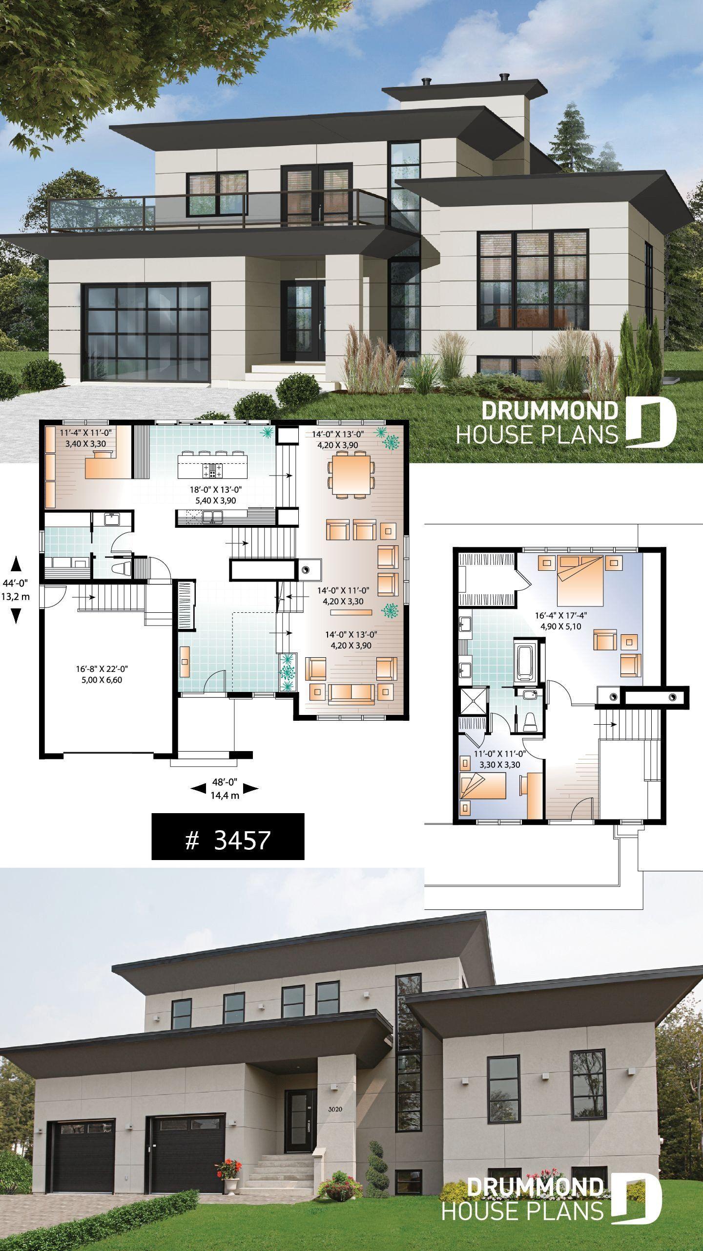 Sims 4 Modern House Floor Plan House Plan Caldwell No 3457 In 2020 Modern House Floor Plans Contemporary House Plans Mansion Floor Plan