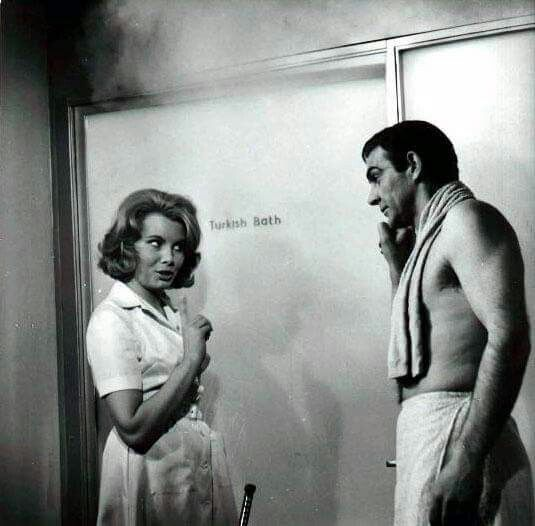 Patricia Fearing and James Bond