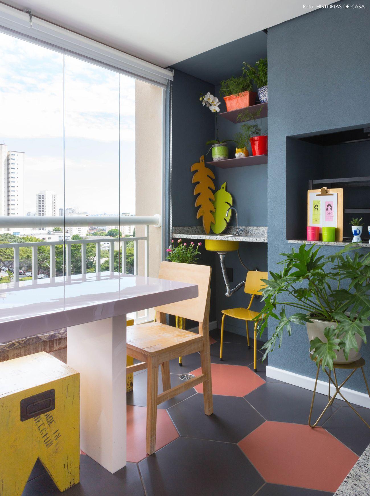 Ape Colorido Com Sala Integrada Com Imagens Decoracao De