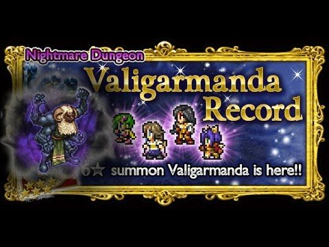 [FFRK] Nightmare Dungeon | Valigarmanda - Belias the Gigas #676