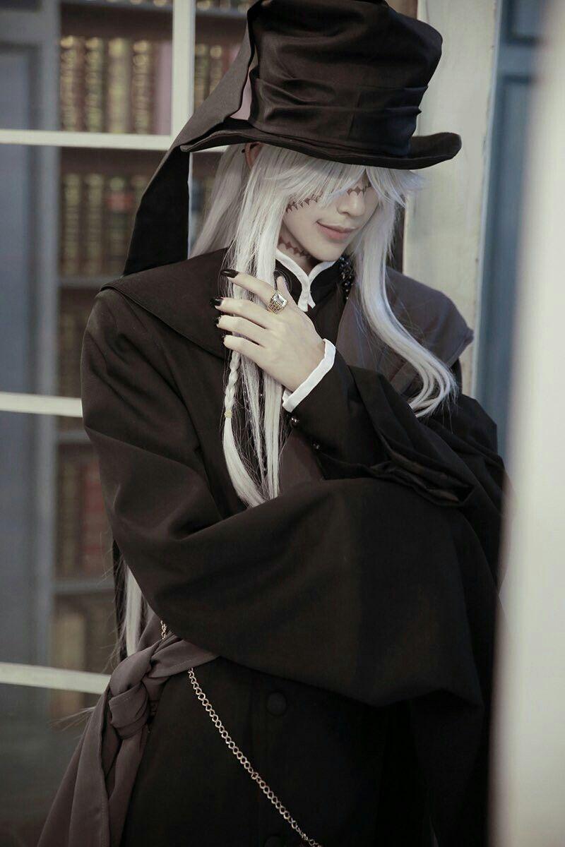 KumaQi cosplay Undertaker (kuroshitsuji) | Wanita
