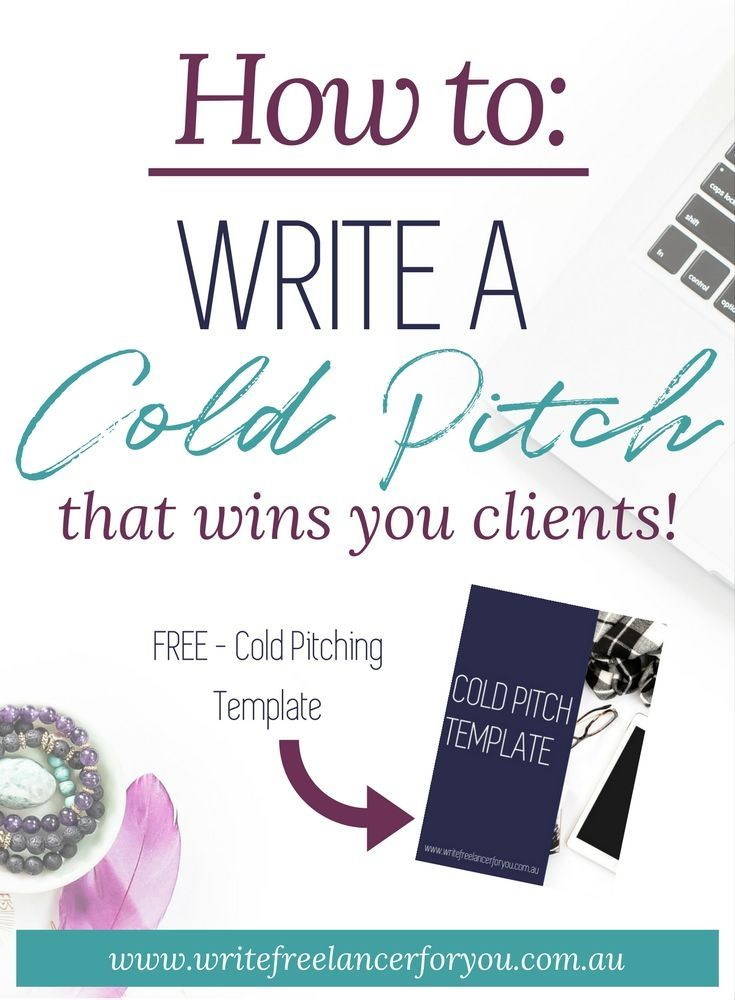 cold pitch template, how to write a cold pitch, cold pitching