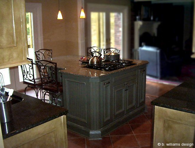 An Oddly Shaped Kitchen Island: Large Kitchen Islands With Seating