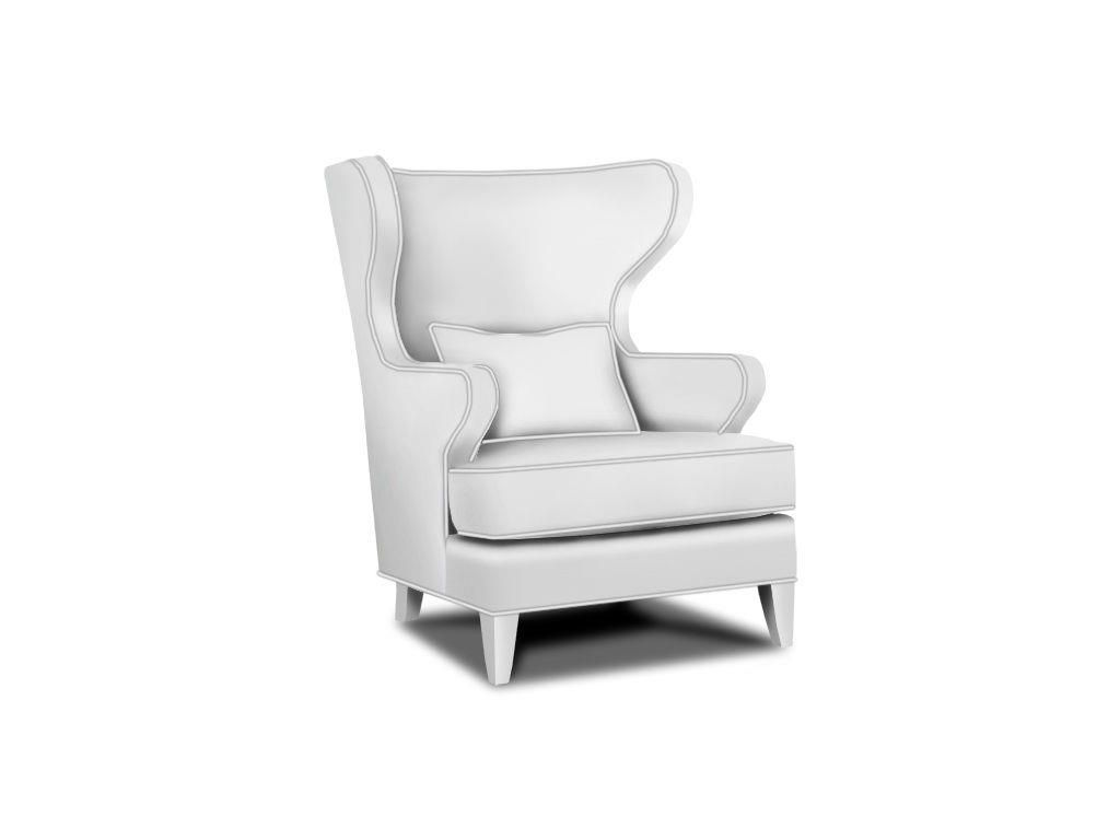 The Landon Wing Chair From Marty Mason Collected Home Can Be Customized  With Our Exclusive Fabrics, Nailhead Trim And Wood Finishes. Includes  Lumbar Pillow.