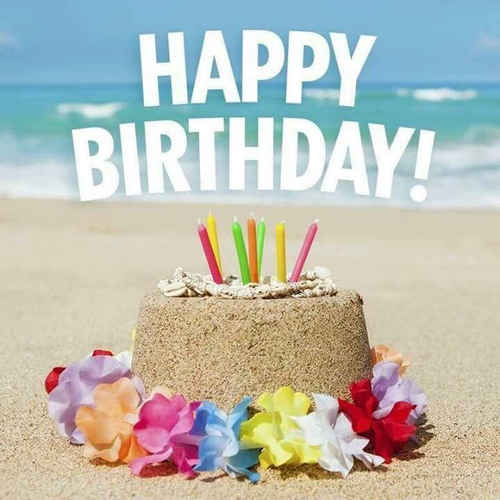 Поздравление с днем рождения море солнце