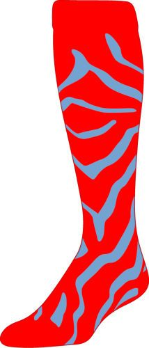 Zebra Striped Sock Custom Lpzx Custom Socks Zebra Socks
