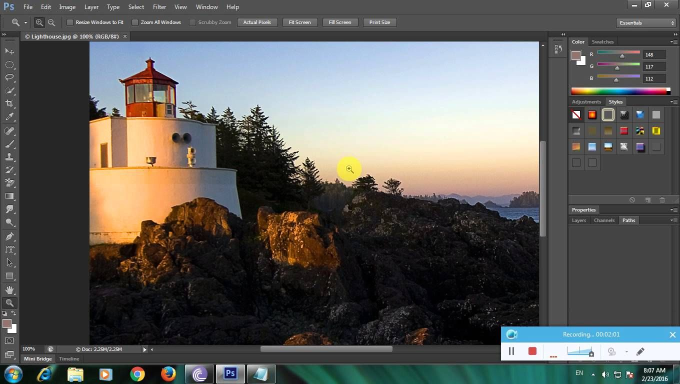 How To Zoom In Or Zoom Out A Particular Place In A Image Using  Photoshophttps: