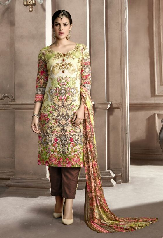 c42d24e2da Kohinoor Pure Cotton Dress material (12 pc catalog). Find this Pin and more  on Wholesale Cotton suits ...