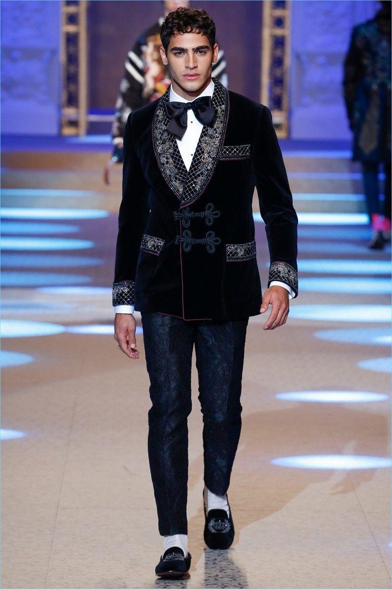 Dolce-Gabbana-Fall-Winter-2018-Mens-Runway-Collection   Mens Attire ... 566072a6124f