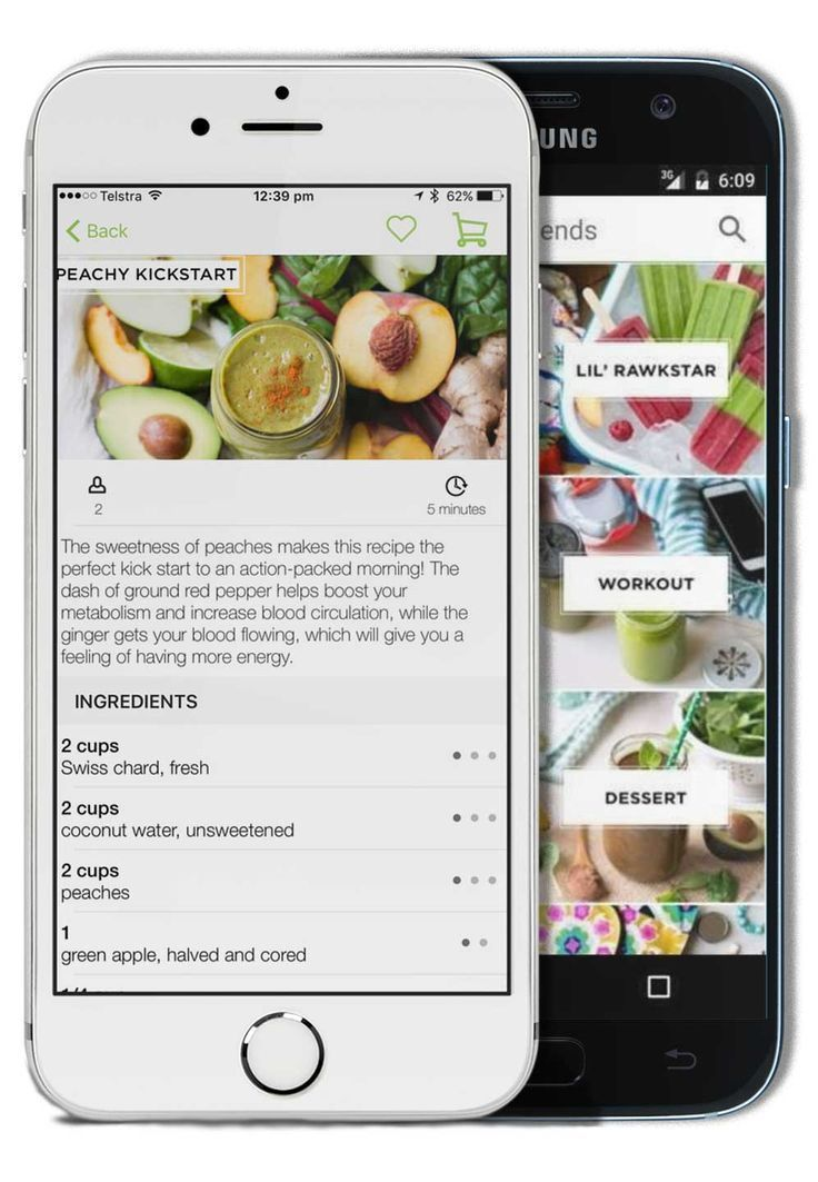 Daily blends app a green smoothie app thats amazing
