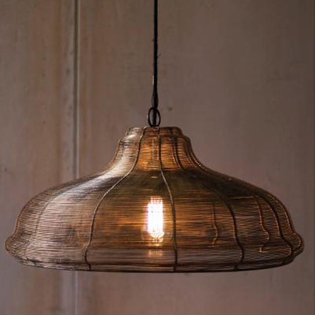 Bet You Didn T Expect This A Shapely Pendant Lamp With A