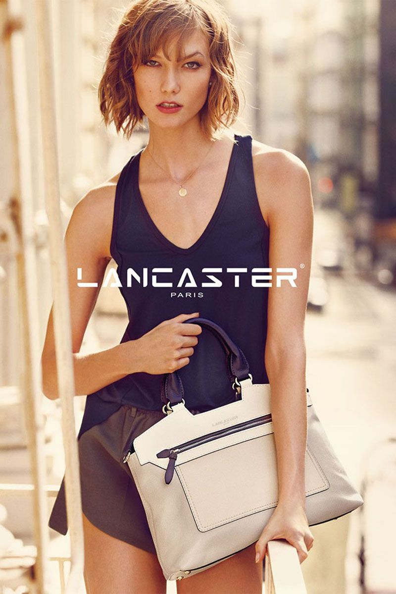 "Lancaster Paris has hired top model Karlie Kloss as the face of their latest campaign. Photographed by Guy Aroch, Karlie takes to the streets of New York. ""We were looking for someone that would re…"