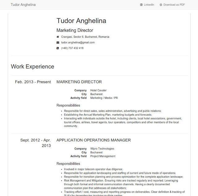 Free Html5 Css3 Twitter Bootstrap 3 Minimalist Design Resume Resume Design Field Marketing Web Design Tutorials
