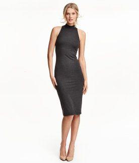 Damen   Basics   H&M DE   Rollkragenkleid, Kleider, Modestil