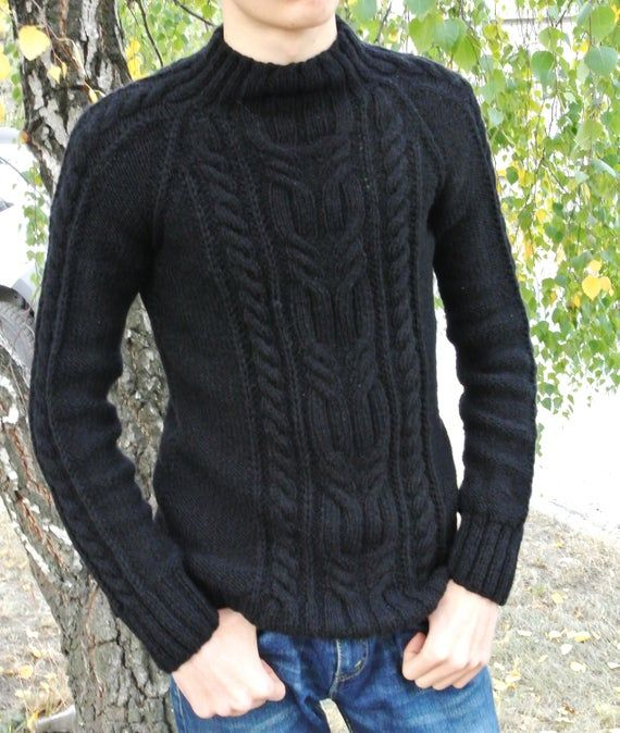 Wool sweaters for men, Aran sweater, Mens sweaters, Knit sweater, Hand knit aran sweater, Fishermans sweaters, handmade knitwear for man