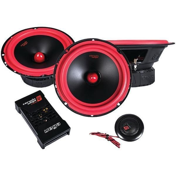 Vega Series 6.5 400-Watt 2-Way Component Speaker System