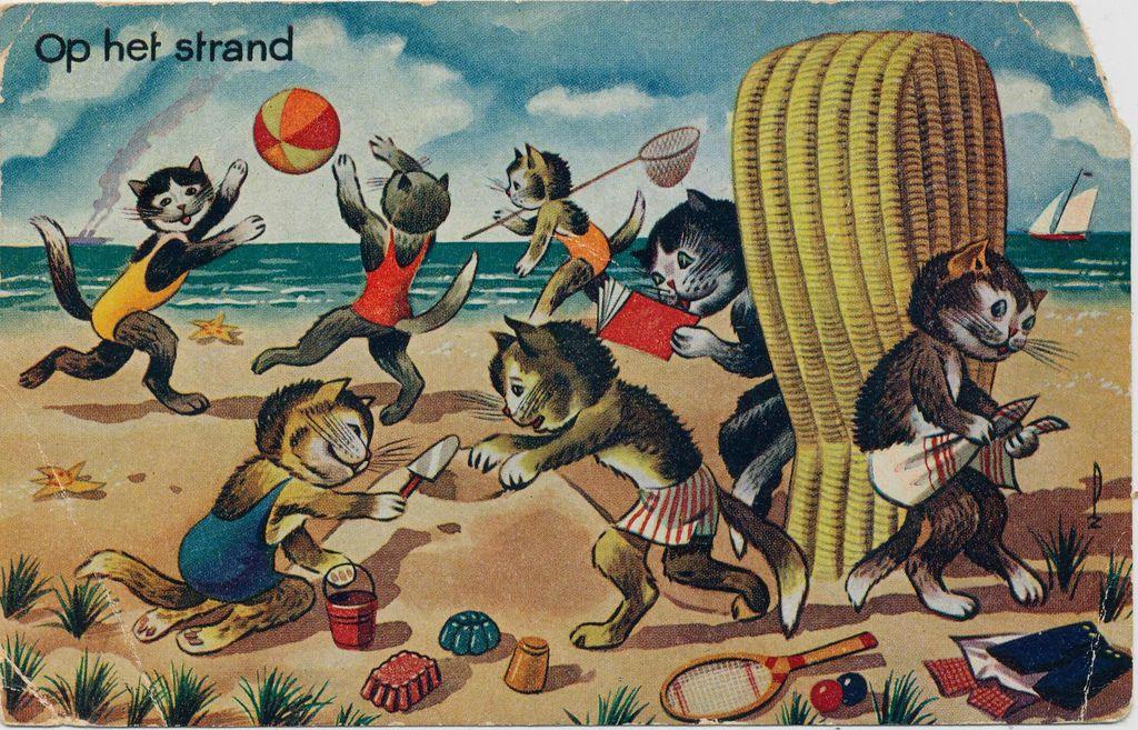 All sizes   Pc poezen op het strand 1945   Flickr - Photo Sharing!