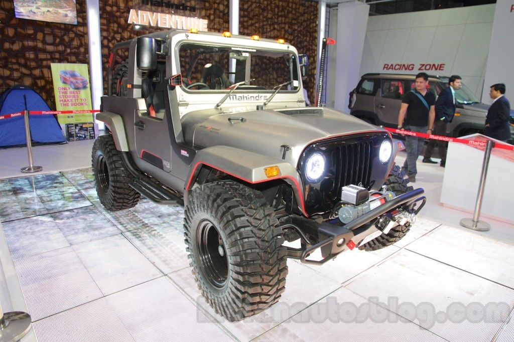 Mahindra Thar Daybreak Edition Body Kit Costs Inr 9 6 Lakhs Mahindra Thar Mahindra Jeep Modified Cars