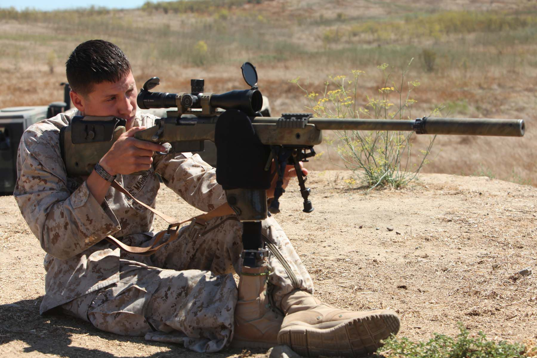 marines scout sniper school