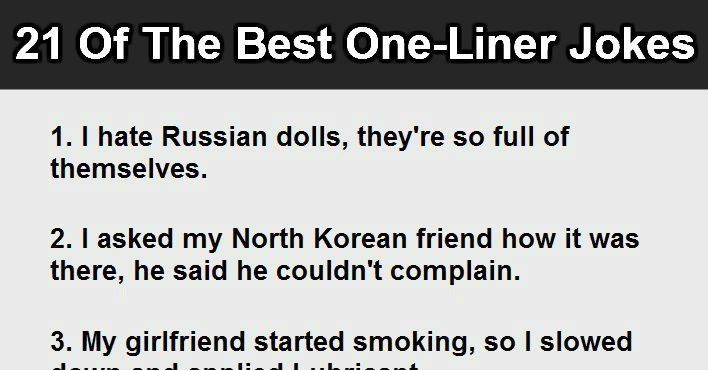 Image of: Funny Jokes This Is Brilliant although Several Of These Are From Jimmy Carr Pinterest 21 Best Oneliner Jokes 15 Is Just Evil Smiles And Laughs
