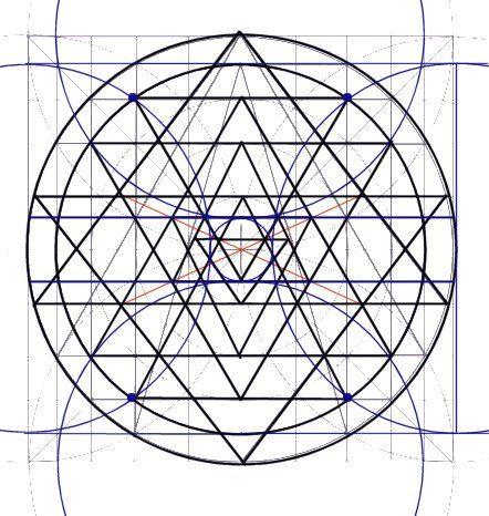 Drawing the Sri Yantra | mandala | Sacred geometry patterns