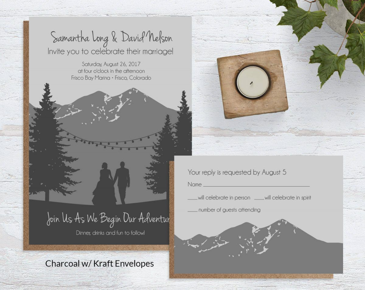 mountain wedding invitations Do that get this leader on Mountain