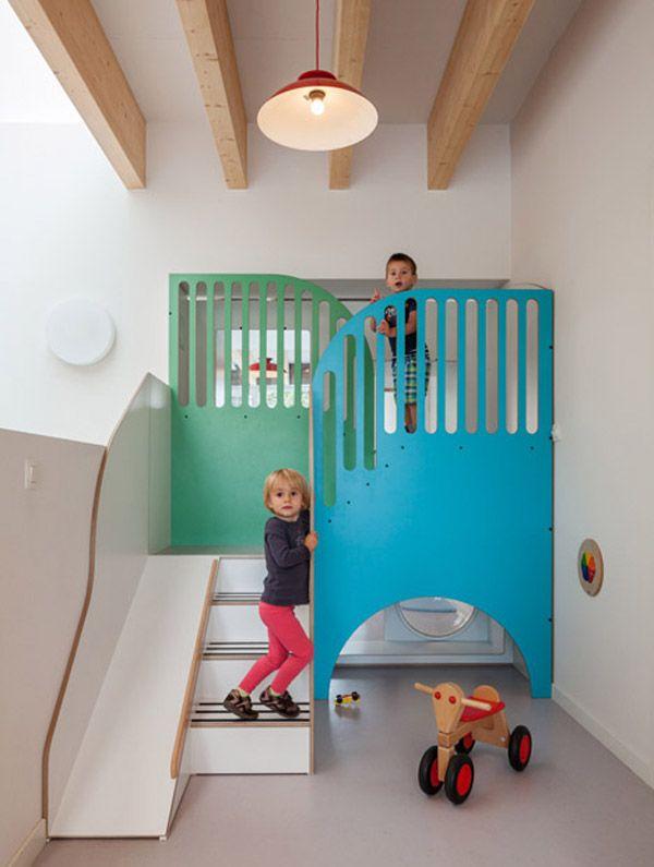 Espacio infantil de dise o en bruselas muebles - Muebles infantiles diseno ...