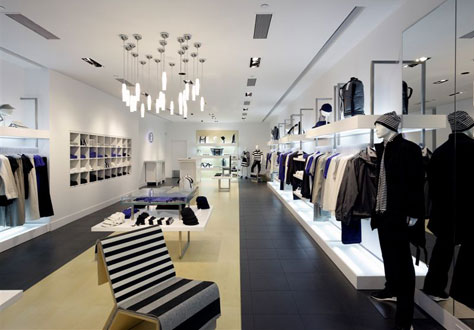 Pin By Real Haute Look On Modern Gents Fashion Retail Interior