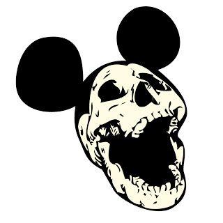 álvaro redondo: SKULL + Mickey