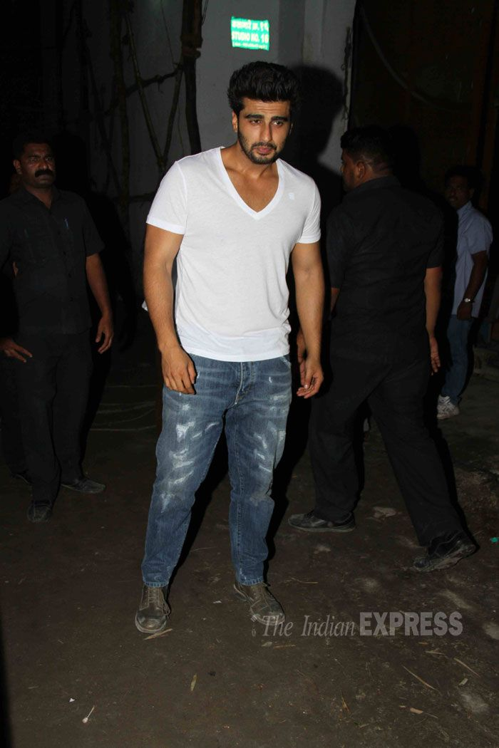 Arjun Kapoor at the wrap up bash of 'Tevar'. #Bollywood #Fashion #Style #Handsome