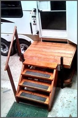 Best Portable Adjustable Camper Rv Deck Steps Deck Steps Camper Steps Camper 400 x 300