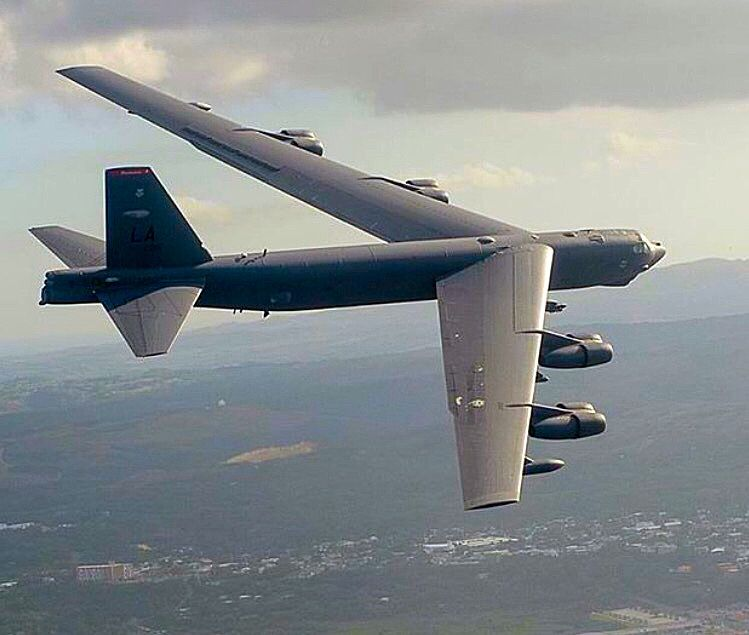 Boeing B 52 Stratofortress Of The U S Air Force History: USAF Boeing B-52H Stratofortress Of The 2nd BW At