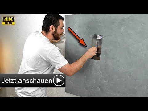 betonoptik selber machen i alpina wand spachteltechnik zum streichen hd youtube. Black Bedroom Furniture Sets. Home Design Ideas