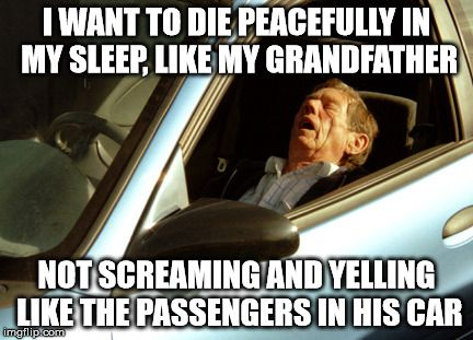 Funny Sleeping Meme : Old man sleeping in car meme generator imgflip funny